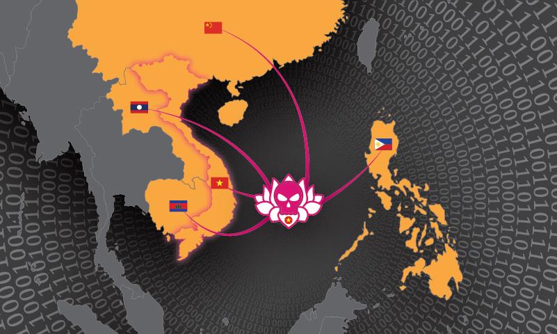 OceanLotus Attack Map