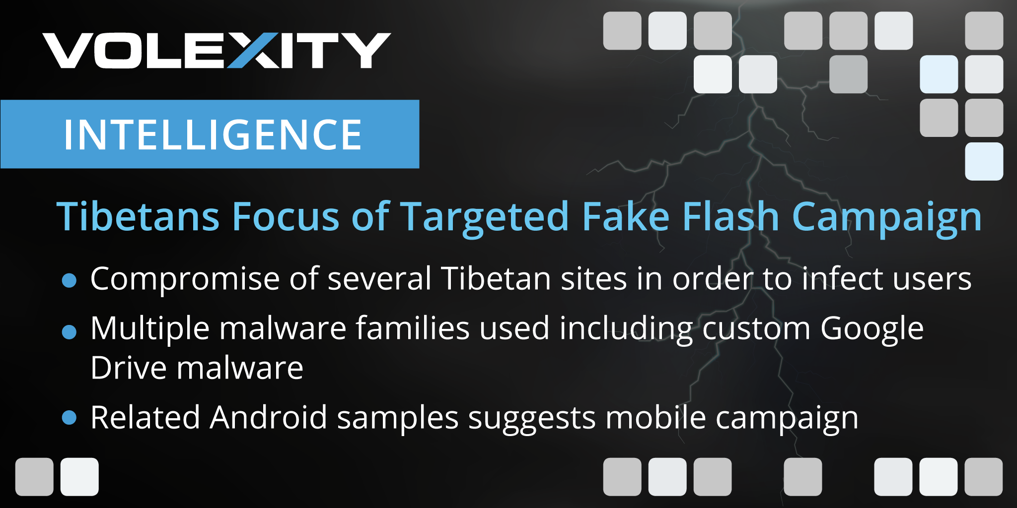 Storm Cloud Unleashed: Tibetan Focus of Highly Targeted Fake Flash Campaign
